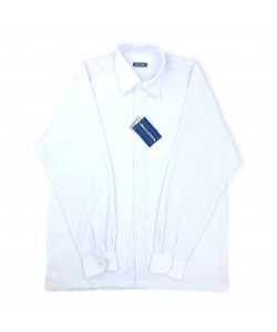 BINBI Secondary School Uniform Boy Long Sleeve White Shirt (Koshibo)
