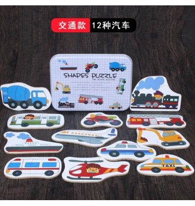 Children Wooden Learning Puzzle (Ready Stock)