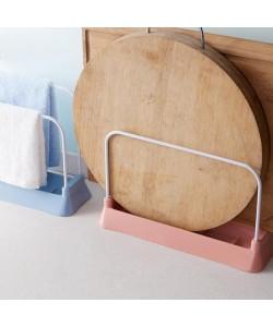 Kitchen Cutting Board Drain Rack Rag (Ready Stock)