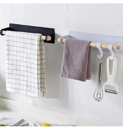 Wall Hanging Towel Bar (Ready Stock)