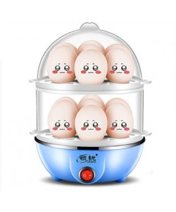 Multi Function Double Layers Egg Cooker / Steamer (Ready Stock)