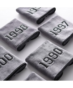 Superfine Fiber Years Bath Towel Grey (Ready Stock)
