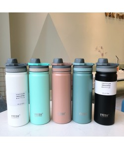 Buckle Stainless Steel Thermos 530ml (Ready Stock)