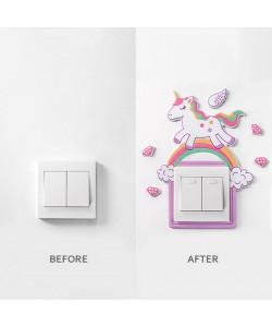 Decoration 3D Wall Socket Protection Sticker (Ready Stock)