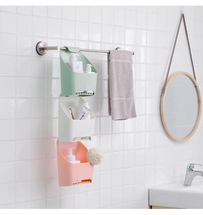 Bathroom Bath Storage Hanging Basket (Ready Stock)