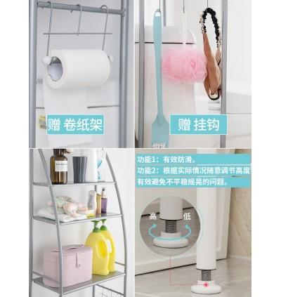Bathroom / Washing Machine 3 Layer Rack (Ready Stock)
