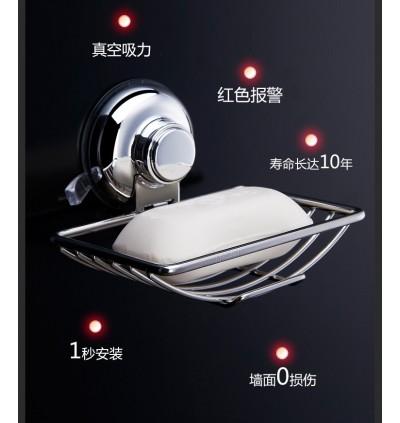 Stainless Steel Basket Portable Bath Soap Box (Ready Stock)