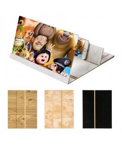 12 Inch 3D Wood Grain HD Mobile Phone Screen Magnifier (Pre-Order)